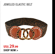 Jeweled Elastic Belt