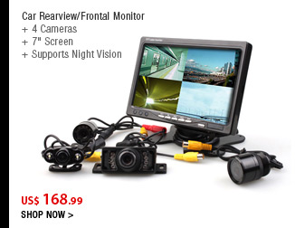 Car Rearview/Frontal Monitor