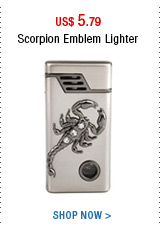 Scorpion Emblem Lighter
