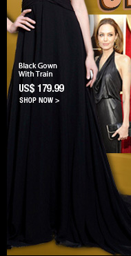 Black Gown With Train