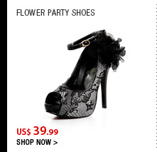 Flower Party Shoes
