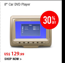 "8"" Car DVD Player"