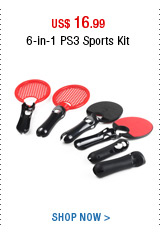 6-in-1 PS3 Sports Kit