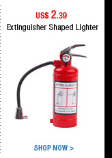 Extinguisher Shaped Lighter