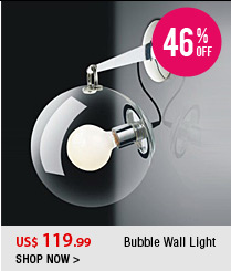 Bubble Wall Light