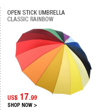 Open Stick Umbrella
