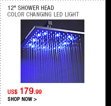 "12"" Shower Head"