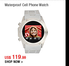 Waterproof Cell Phone Watch