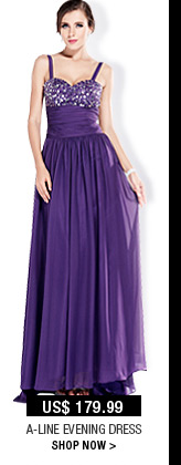 A-line Evening Dress