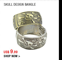 Skull Design Bangle
