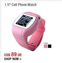 "1.5"" Cell Phone Watch"