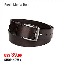 Basic Men's Belt
