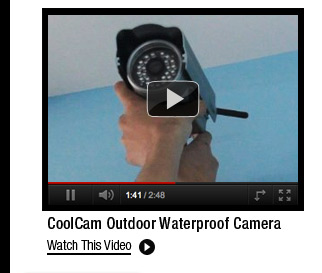 CoolCam Outdoor Waterproof Camera