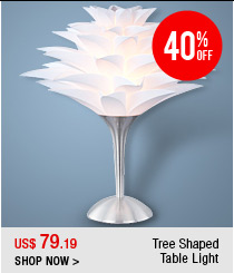 Tree Shaped Table Light