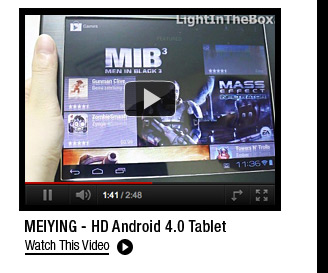 MEIYING - HD Android 4.0 Tablet