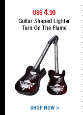 Guitar Shaped Lighter