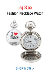 Fashion Necklace Watch