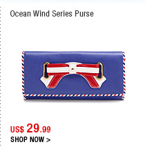 Ocean Wind Series Purse