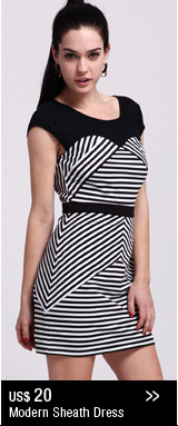 Modern Sheath Dress