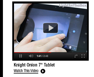 "Knight Onion 7"" Tablet"