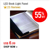 LED Book Light Panel