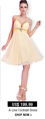 A-Line Cocktail Dress