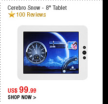 Cerebro Snow - 8&quot; Tablet 