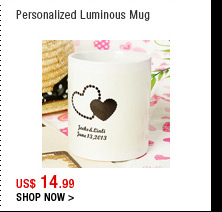 Personalized Luminous Mug
