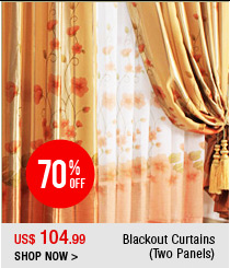 Blackout Curtains (Two Panels)