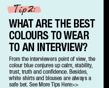 What Are The Best Colours To Wear To An Interview?
