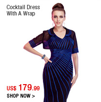 Cocktail Dress With A Wrap