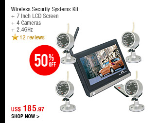 Wireless Security Systems Kit