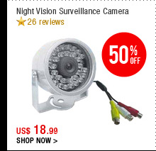 Night Vision Surveillance Camera