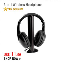 5 in 1 Wireless Headphone