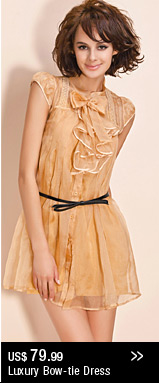 Luxury Bow-tie Dress
