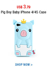 Pig Boy Baby iPhone 4/4S Case