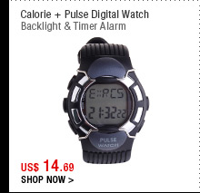 Calorie + Pulse Digital Watch