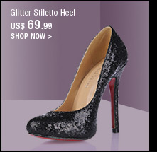 Glitter Stiletto Heel