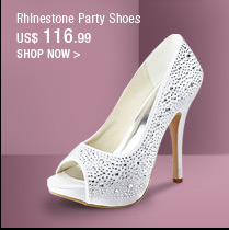 Rhinestone Party Shoes