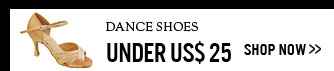 Dance Shoes Under US$ 25