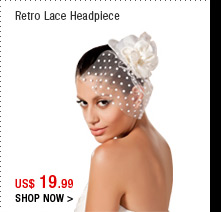 Retro Lace Headpiece