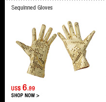 Sequinned Gloves