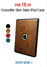 Crocodile Skin Style iPad Case