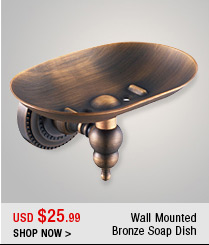 Wall Mounted Bronze Soap Dish