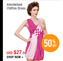 Intertwined Chiffon Dress