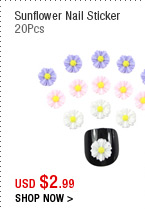 Sunflower Nail Sticker