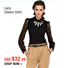 Lace Sleeve Shirt