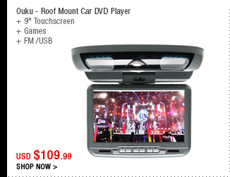 Ouku - Roof Mount Car DVD Player
