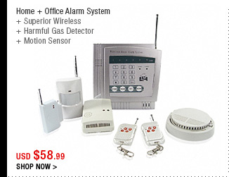 Home + Office Alarm System
