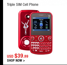 Triple SIM Cell Phone